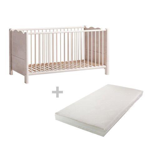 BioKinder - Das gesunde Kinderzimmer Babybett »Feli«, 70x140 cm mit Matratze