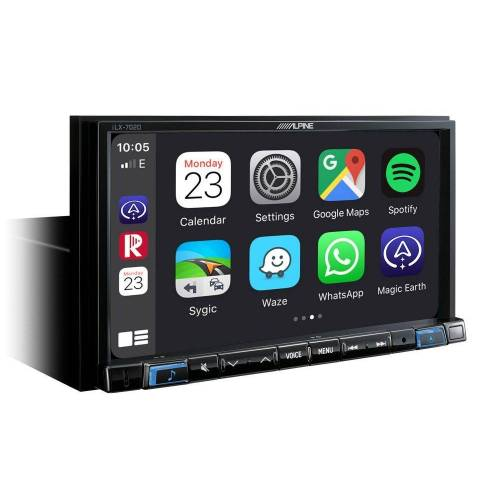 Alpine Audio-System (iLX-702D, Autoradio mit DAB+, 7-Zoll Display, Apple CarPlay und Android Auto Unterstützung)