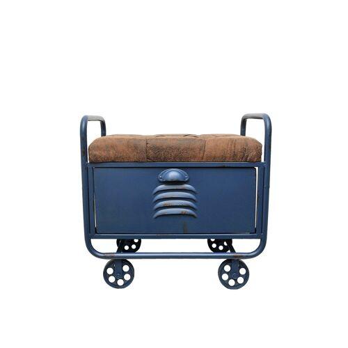 HTI-Line Sitztruhe »Truhe Steampunk«, gepolstert