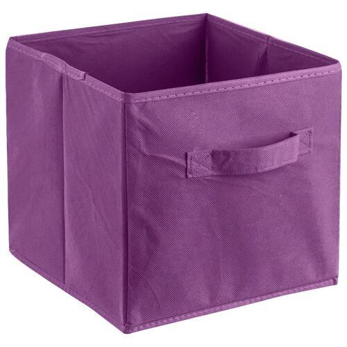 ADOB Aufbewahrungsbox »Faltbox« (1 Stück), Faltbox mit Griff, violett