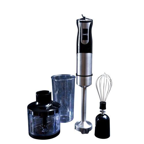 GASTRONOMA Stabmixer 18210001 1000 Watt Power Stabmixer-Set 3 in 1 - Perfekt zum Mixen von Saucen und Suppen – schnell und effizient, 1000 W