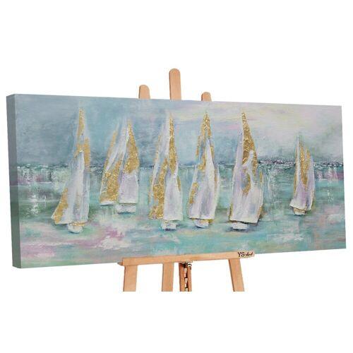 ART YS-Art Gemälde »Segelboote«