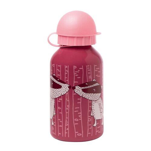 Sigikid Trinkflasche »Dachs Rosa 350 ml«