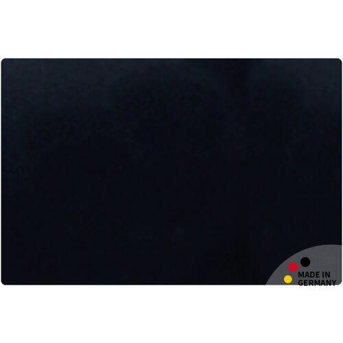 matches21 HOME & HOBBY Schreibtischplatte »Schreibtischunterlage Upcycling Leder schwarz Tischunterlage 60x40 cm«