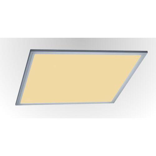 TRANGO LED Panel, 3000PL LED Deckenpanel 40 Watt 3000K warmweiß *LEO* 62x62cm 3200 Lumen - Büroleuchte, Deckenlampe, Deckenleuchte, Rasterleuchte, Einbau-Deckenleuchte, Odenwalddecke, Einlegeleuchte, Büro-Deckenpanel