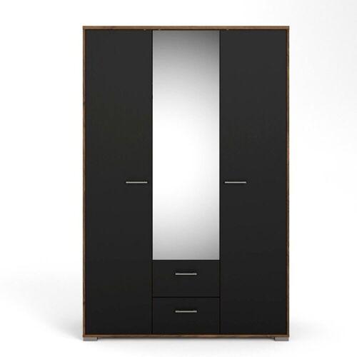 ebuy24 Kleiderschrank »Holle Kleiderschrank 3 Türen und 2 Schubladen. Wal«