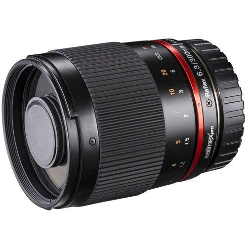 walimex »pro 300mm F6,3 DSLR Spiegel Nikon F« Objektiv
