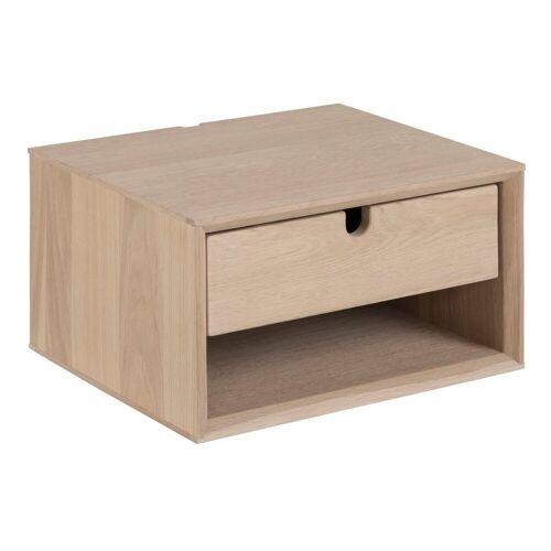 ebuy24 Nachttisch »Cent Nachttisch, klein, wandhängend mit 1 Schublad«