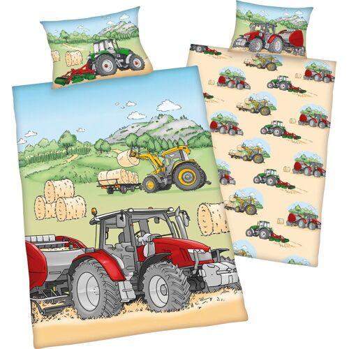Baby Best Babybettwäsche »Traktor«, , mit tollen Traktor Motiven