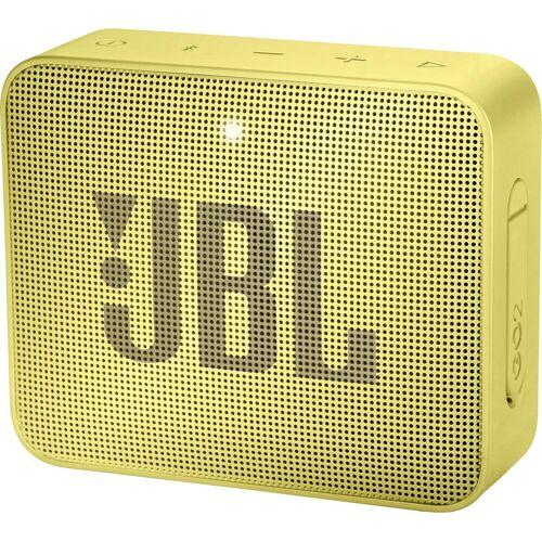 JBL GO 2 Portable-Lautsprecher (Bluetooth, 3 W), gelb