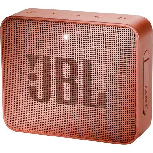 JBL GO 2 Portable-Lautsprecher (Bluetooth, 3 W), zimtbraun