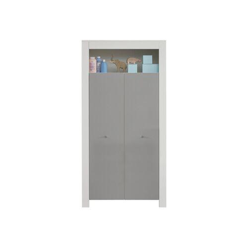 ebuy24 Kleiderschrank »Petrol Kleiderschrank Kinderzimmer 2 Türen und 1 A«