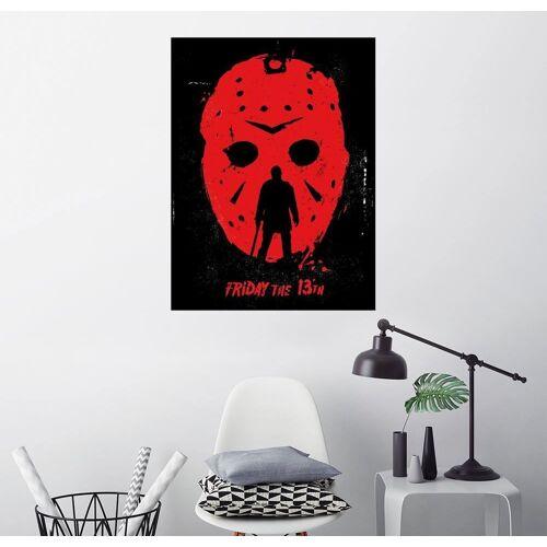 Posterlounge Wandbild, Premium-Poster Friday the 13th
