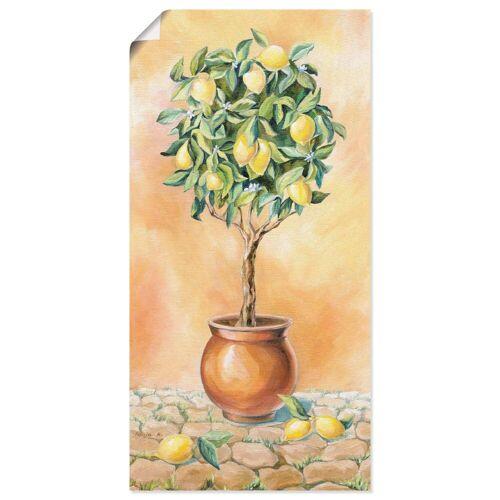 Artland Wandbild »Zitronenbaum I«, Pflanzen (1 Stück)