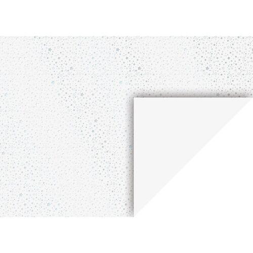 VBS Motivpapier »Sterne«, 70 cm x 50 cm, Silber