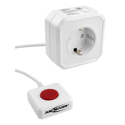 Ansmann »Steckdosenadapter energiesparend AES3 / Energiesparsteckdose programmierbar« Funksteckdose (Kabellänge 0 m)