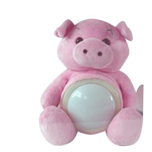JOKA international LED Nachtlicht »Nachtlicht LED Touch Leuchte Schwein Lampe Nachtlicht-Touch Kuscheltier Nachtlichter 12019«, Touchlampe Schwein