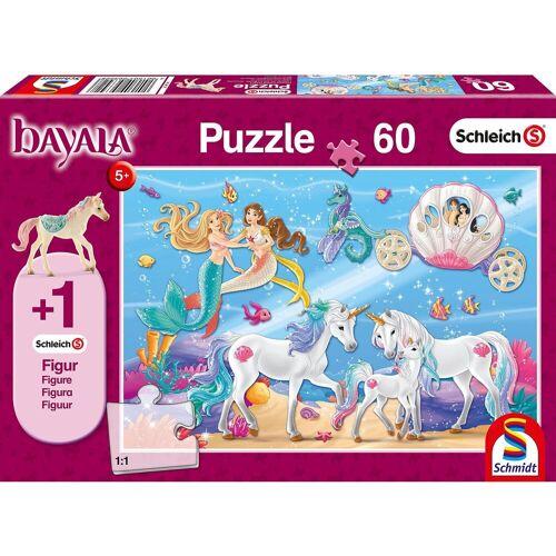 Schmidt Spiele Puzzle 60 Teile Schleich Bayala, Der Zauber der Meerjungfrau