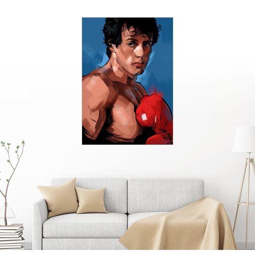 Posterlounge Wandbild, Premium-Poster Rocky 1