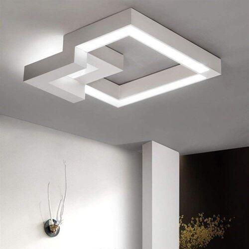 ZMH LED Deckenleuchte »Deckenlampe 32W Wohnzimmerlampe Dimmbar mit Fernbedienung Eckig für Schlafzimmer Küchen Badezimmer«