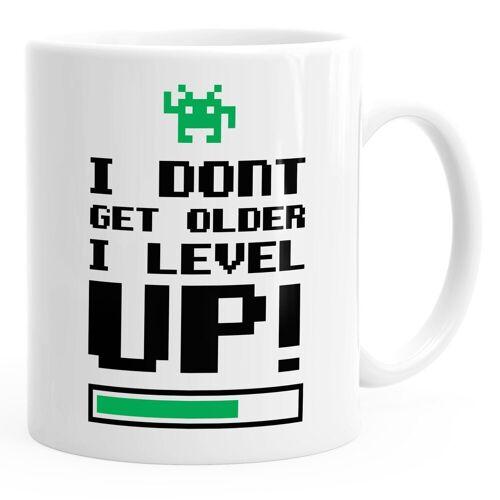 MoonWorks Tasse »Kaffeetasse I dont get older I level up Gamer Spruchtasse Geburtstagstasse ®«