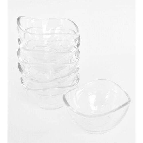 LAV Schale »Glasschale 6er Set VIRA Glasschale 6er Set VIRA«, Glas
