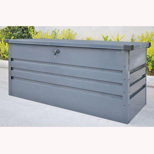 HOME DELUXE Aufbewahrungsbox »Megabox XL 400L Metall«, abschließbar (inkl. Schlüssel)