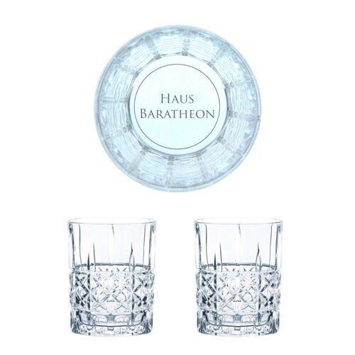 Nachtmann Whiskyglas »Game of Thrones Whiskygläser Set Haus Baratheon«