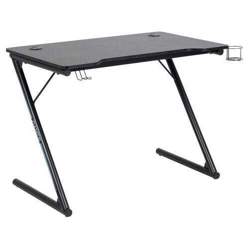 ebuy24 Schreibtisch »Trops Schreibtisch für Gamer mit Getränkehalter sc«