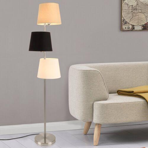 lux.pro Stehlampe, Stylische Stehleuchte »Braga« - 3-flammig