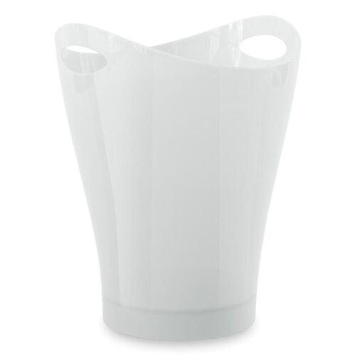 Umbra Papierkorb »Garbino Metallic Weiß 9 L«