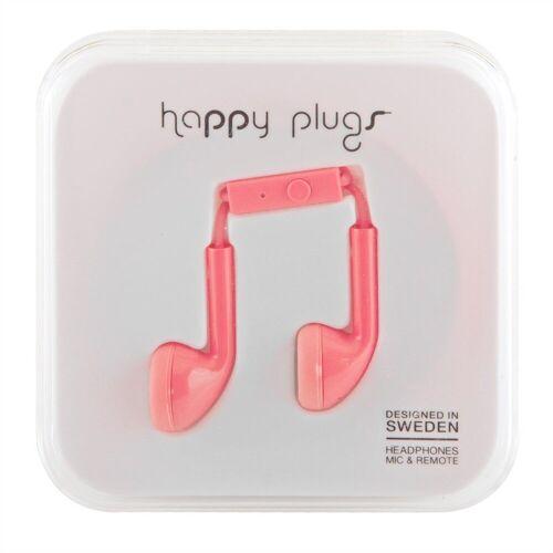 Happy Plugs »Headset für Apple iPhone 6 in coral« Kopfhörer