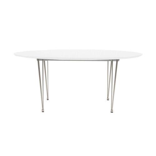 ebuy24 Esstisch »Esstisch Belle Länge 170 cm oder 270 cm, weisslack«