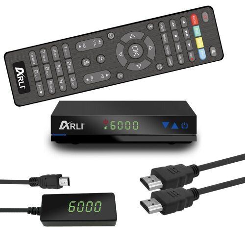 ARLI »HD AH1 - 1087« 1 SAT-Receiver (Mini HD Sat Receiver mit vielen Funitionen)