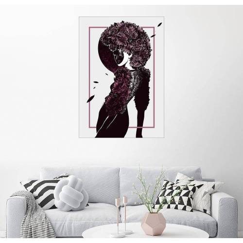 Posterlounge Wandbild, Moretta oder Muta Mask
