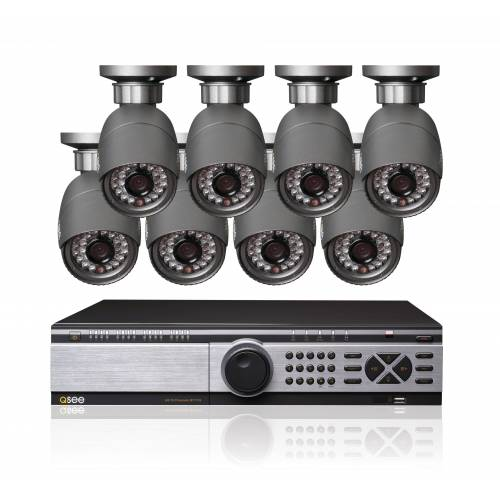 Q-See Set: SDI DVR Recorder mit 8 SDI Kameras »QT7116-880-2«, schwarz