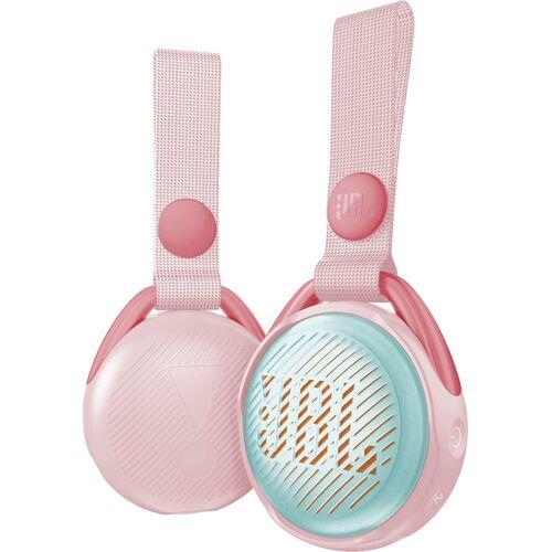 JBL JRPOP Bluetooth-Lautsprecher (Bluetooth, 3 W), rosa