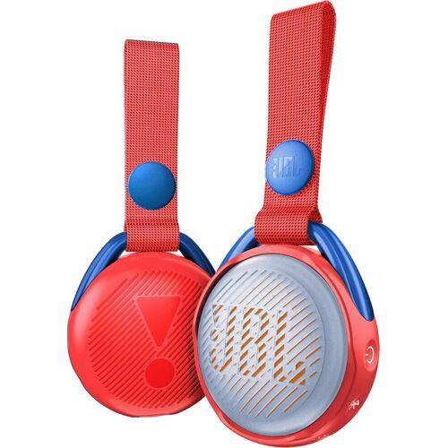 JBL JRPOP Bluetooth-Lautsprecher (Bluetooth, 3 W), rot