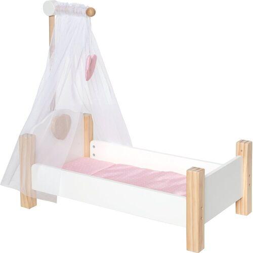 myToys »Holz Puppenbett« Puppenbett