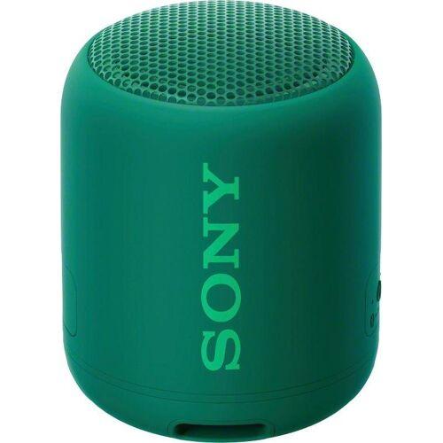 Sony SRS-XB12 Bluetooth-Lautsprecher (Bluetooth, NFC), grün