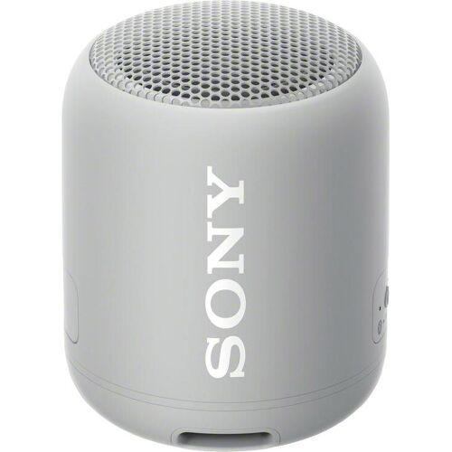 Sony SRS-XB12 Bluetooth-Lautsprecher (Bluetooth, NFC), grau