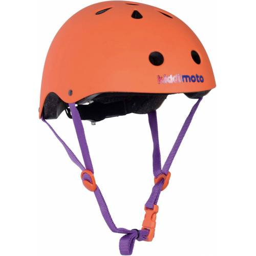Kiddimoto Kinderfahrradhelm »Fahrradhelm - Orange Matt - S (48-53cm)«