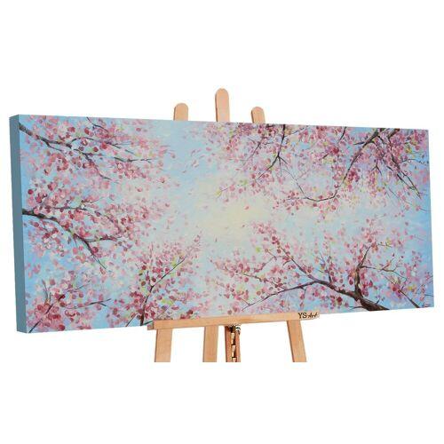 ART YS-Art Gemälde »Himmel in Farben 121«