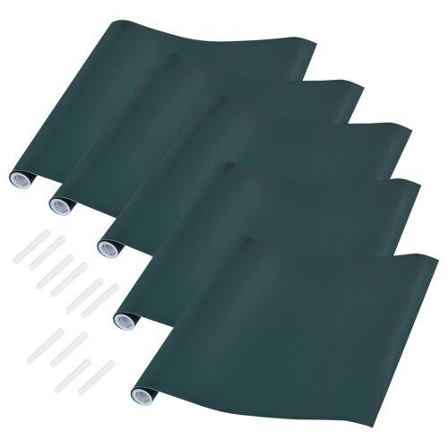 neu.haus Tafelfolie, (5 Stück), 40x300cm - mit Kreide - grün