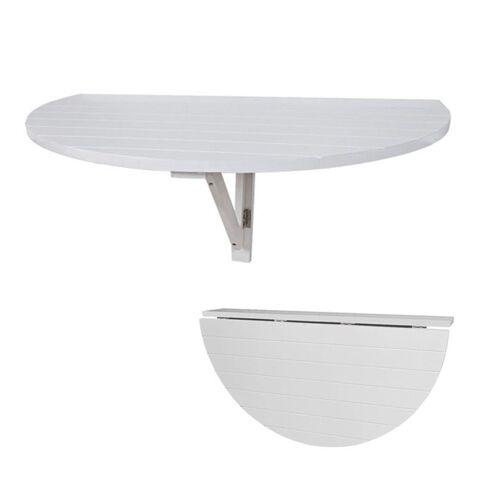 SoBuy Klapptisch »FWT10«, Wandklapptisch Küchentisch Esstisch Kindermöbel Weiß