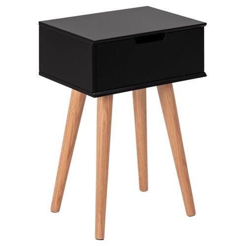 ebuy24 Nachttisch »Mike Nachttisch schwarz.«