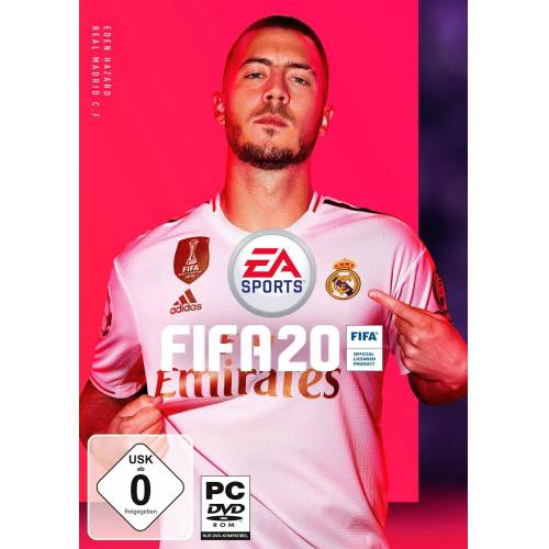 Electronic Arts FIFA 20 PC, Code in a Box