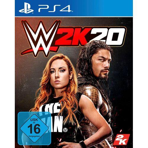 2K WWE 20 PlayStation 4