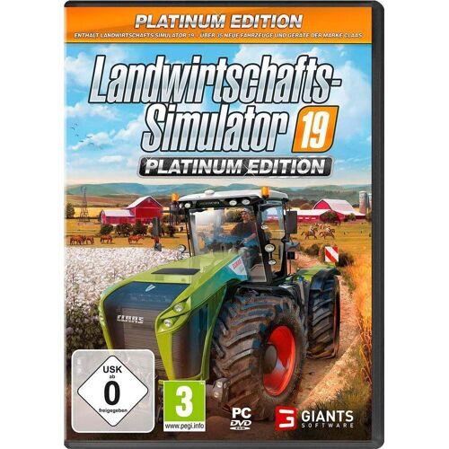 Astragon Landwirtschaftssimulator 2019 Platinum Edition PC