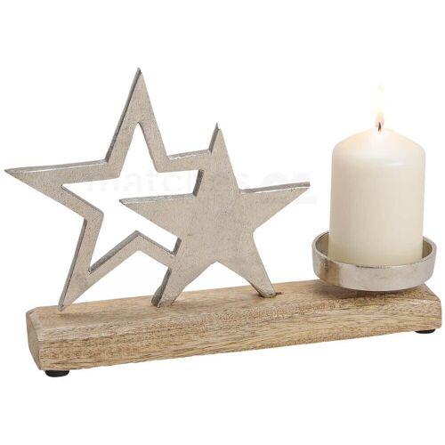 matches21 HOME & HOBBY Kerzenhalter »Sterne Kerzenhalter Deko Weihnachten«